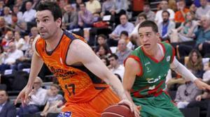 El corazón verdiblanco de Rafa Martínez, jugador del Valencia Basket