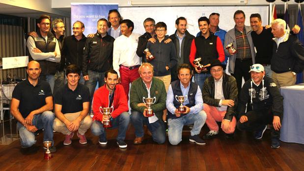 """""""HM Hotels"""", """"Capa"""" y """"Olison"""" ganaron el VI Trofeo Bufete Frau"""