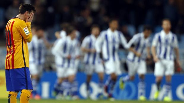 El Barcelona perdió 1-0, el pasado mes de abril, en su última visita a Anoeta