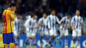 Anoeta, el estadio maldito del Barcelona