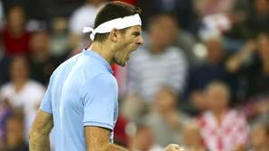 Del Potro levanta un partido épico y fuerza el quinto punto en la final de la Copa Davis