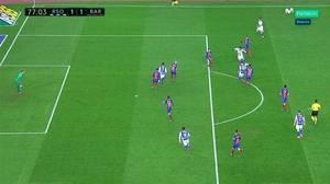 Grave error de Gil Manzano al anular por inexistente fuera de juego un gol de Juanmi