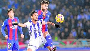 Duro análisis de Piqué: «Con esta actitud será difícil ganar la Liga»