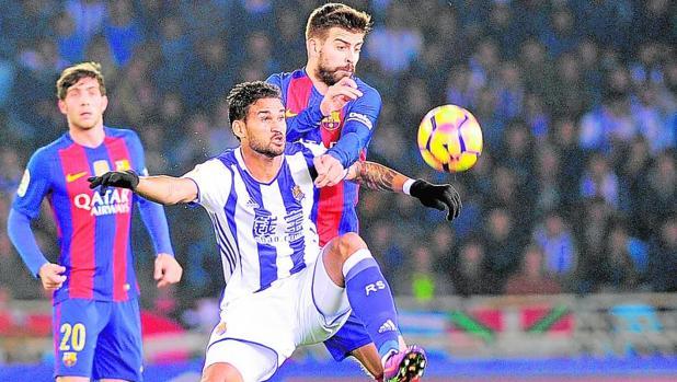 Real Sociedad-Barcelona:  Duro análisis de Piqué: «Con esta actitud será difícil ganar la Liga»
