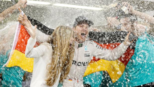 Rosberg, el segundo campeón como papá