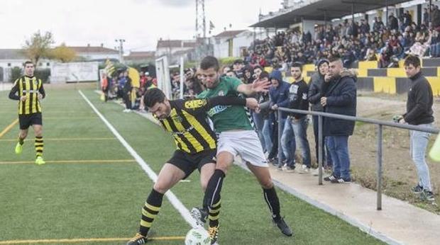 Partido entre el Amanacer cacereño y el Badajoz