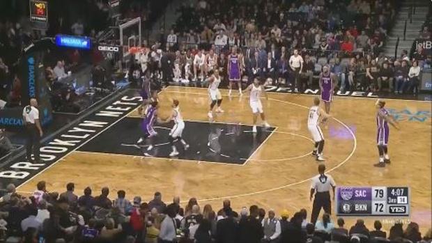 NBA:  El triple sin querer de Matt Barnes
