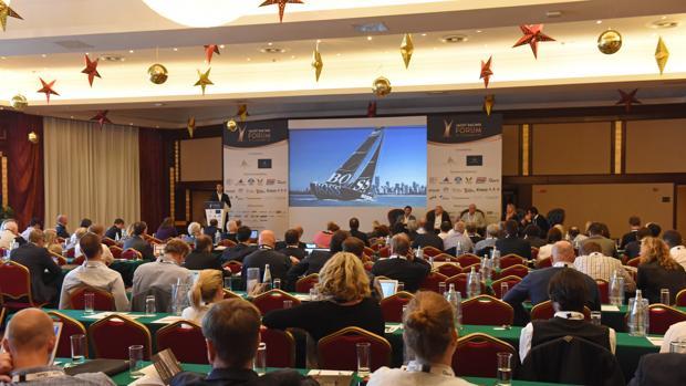 Comunicación, tecnología y sostenibilidad, claves de la primera jornada del Yacht Racing Forum 2016