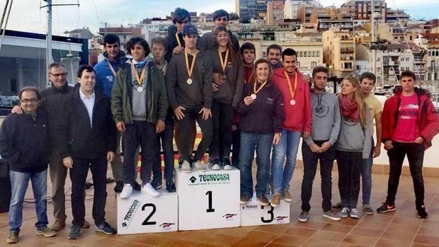 Cambrils, campeón de Cataluña de Laser