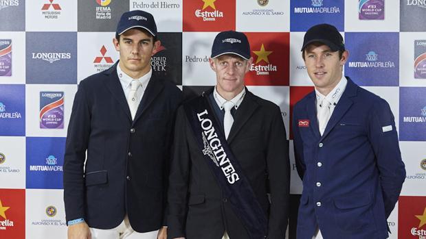 Los vencedores de la etapa de la Copa del Mundo de la Madrid