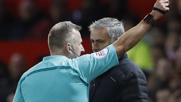 Mourinho, expulsado