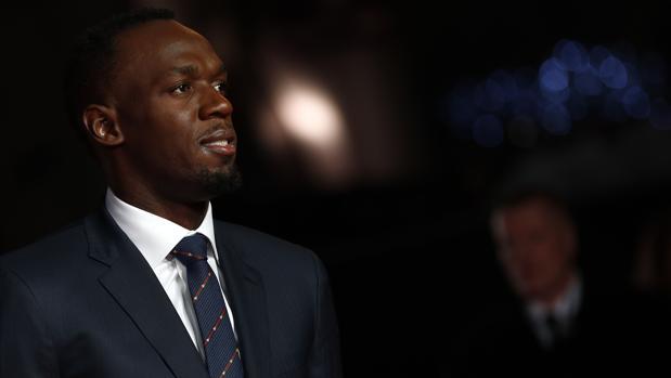 Usain Bolt, en la presentación del documental 'I am Bolt'