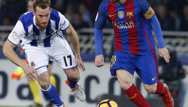 Zurutuza, tras Messi