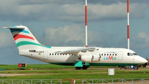 El avión que se ha estrellado este martes
