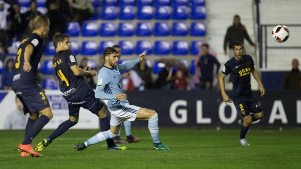 UCAM Murcia-Celta:  Sergi Gómez decide un choque igualado