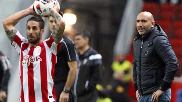 Sporting-Éibar:  La tremenda «rajada» de Abelardo contra un periodista