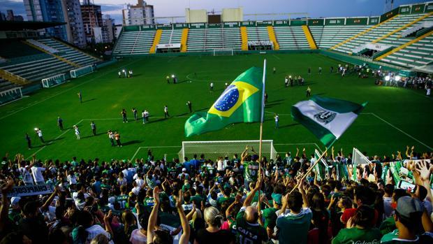 Los clubes brasileños se vuelcan en la reconstrucción del Chapecoense