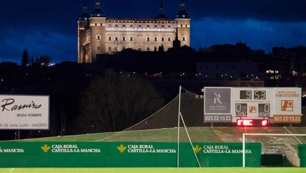 El Alcázar de Toledo visto desde El Salto del Caballo