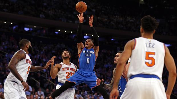 Russell Westbrook, el jugador que asombra a la NBA