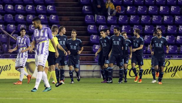 La Real Sociedad encarrila la eliminatoria en Zorrilla