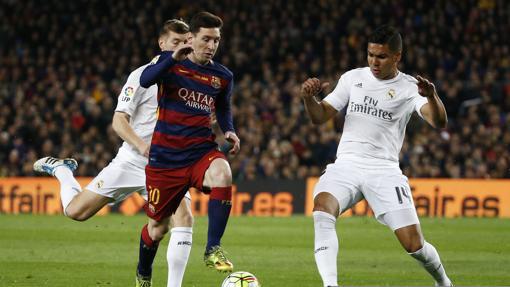 Messi, el máximo goleador del clásico