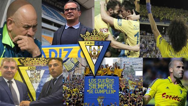 El Cádiz, en 10 momentos de 2016