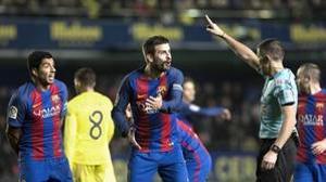 Los árbitros denunciarán a Piqué tras sus declaraciones en Villarreal