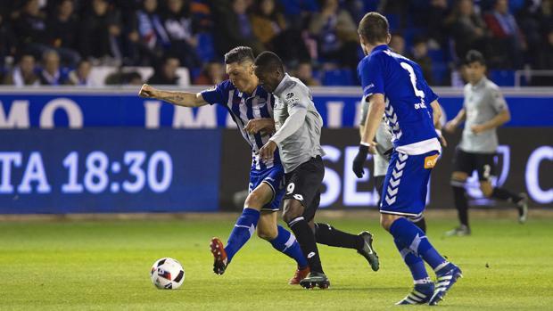 Alavés-Deportivo:  El Alavés se mete en cuartos sin ganar al Dépor