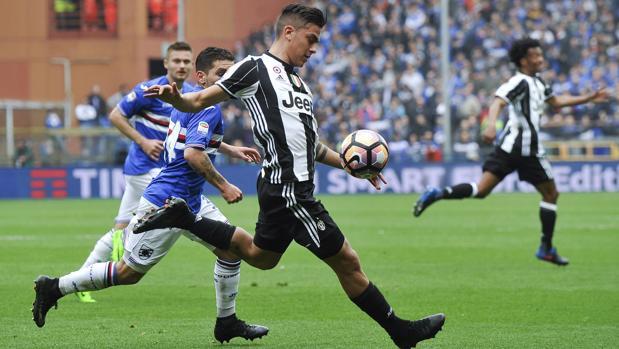 Sampdoria-Juventus:  La Juventus gana, pero pierde a Dybala