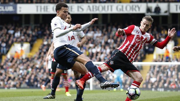 Tottenham-Southampton:  El Tottenham se afianza en la segunda plaza