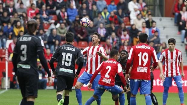 Sporting-Granada:  El Sporting sentencia al Granada
