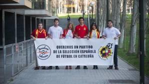 Miembros de la asociación Barcelona con la selección