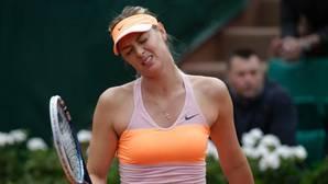 Maria Sharapova, en una imagen de una de sus participaciones en Roland Garros