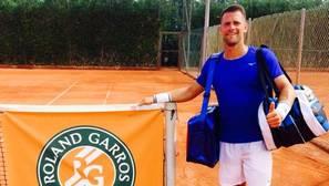 Un gaditano en Roland Garros