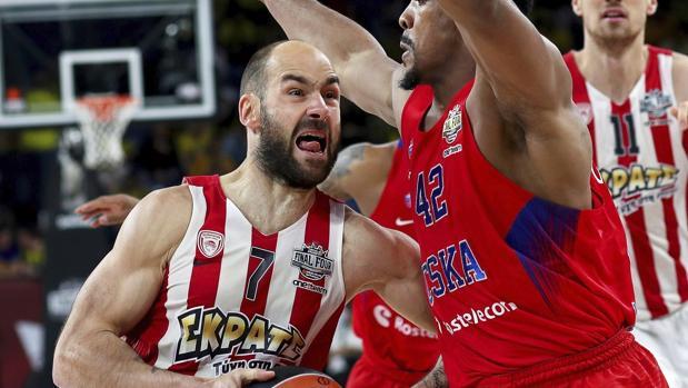 CSKA-Olympiacos:  La fe del Olympiacos sepulta al CSKA