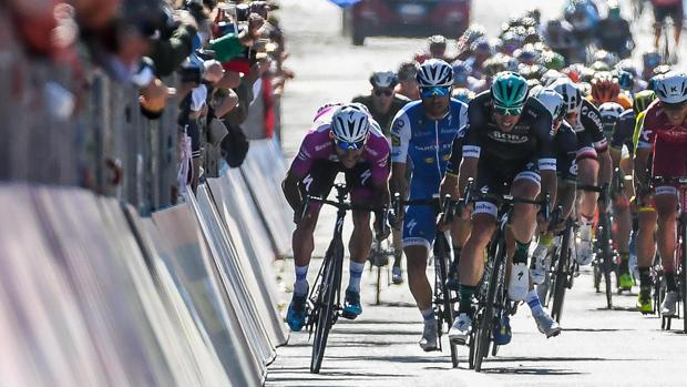 Giro de Italia:  Gaviria completa el póquer