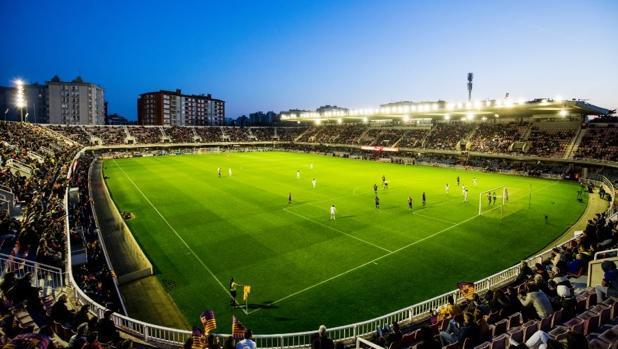 El Mini Estadio, el estadio donde juega el filial del Barcelona