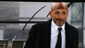 Luciano Spalletti, en un partido de la Roma en la Europa League