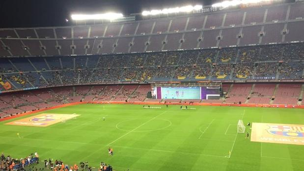 El aspecto del Camp Nou