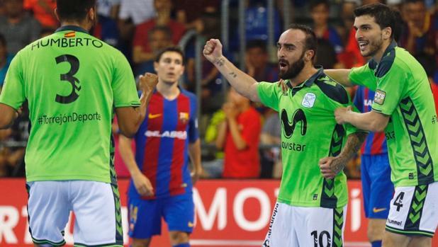 Movistar Inter ganó con claridad en Barcelona