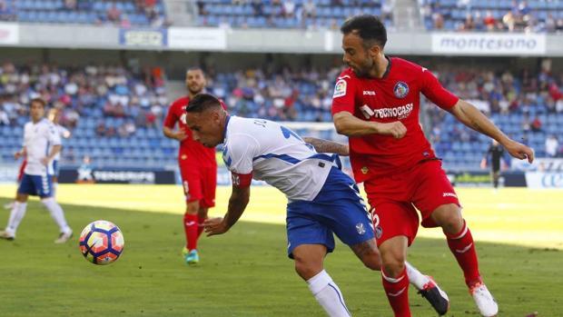 Duelo de Liga en el Heliodoro Rodríguez López entre Tenerife y Getafe