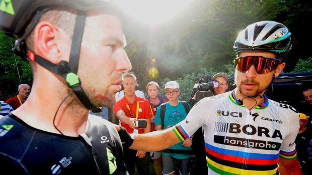 Sagan se interesó por el estado de Cavendish