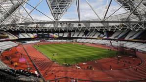 Vista del estadio de atletismo