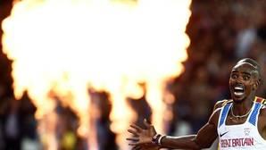 Farah compite contra Bolt