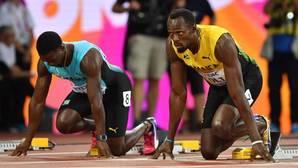Lo que Bolt ve desde su posición
