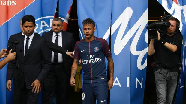 Presentación de Neymar
