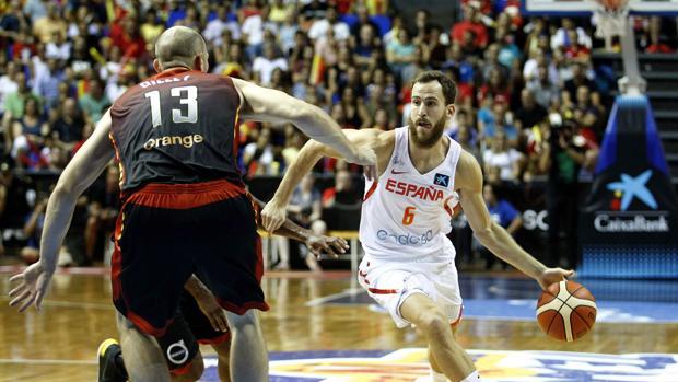 El base de la selección española de baloncesto Sergio Rodríguez