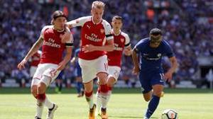 Arsenal y Chelsea disputaron la Community Shield el pasado domingo