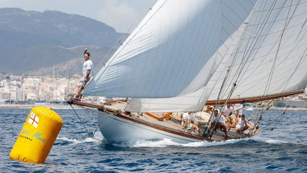 Duelo en la cumbre en la XXIII Regata Illes Balears Clàssics del Club de Mar Mallorca