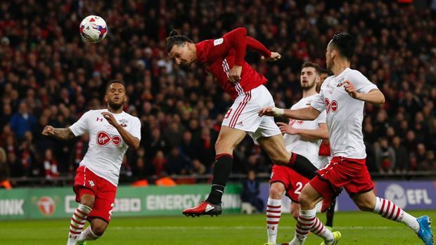 Zlatan Ibrahimovic en Wembley